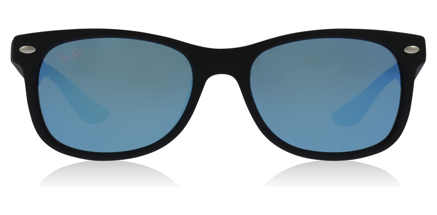 Ray-Ban Junior RJ9052S Age 8-12 Years Zwart 100S55 47mm