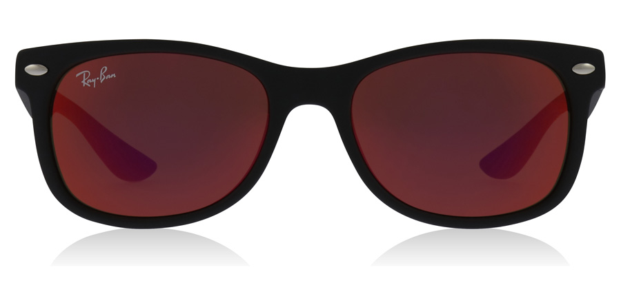 Ray-Ban Junior RJ9052S Age 12-15 Years Mat Zwart 100S/6Q 48mm