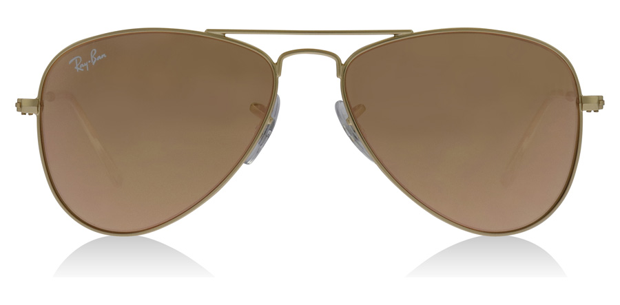Ray-Ban Junior RJ9506S Age 4-8 Years Goud 249-2Y 50mm