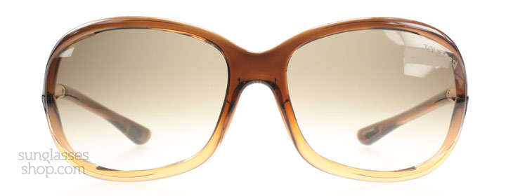Tom Ford Jennifer 0008 Gradient Bruin 50f 61mm