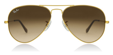 Ray-Ban RB3025 Glanzend Licht Brons