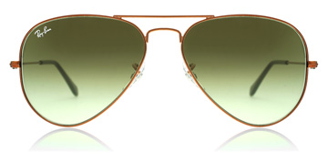 Ray-Ban RB3025 Glanzend  Medium Brons