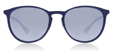 Ray-Ban RB3539 Rubber Electric Blauw