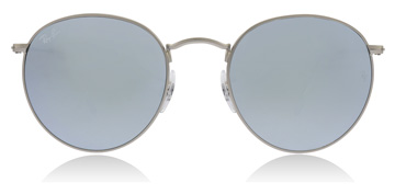 Ray-Ban RB3447 Mat Zilver