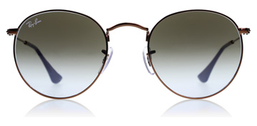 Ray-Ban RB3447 Glanzend Donker Brons