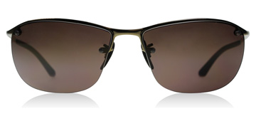Ray-Ban RB3542 Glanzend Bruin